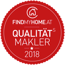FindMyHome.at Qualitäts-Makler 2018