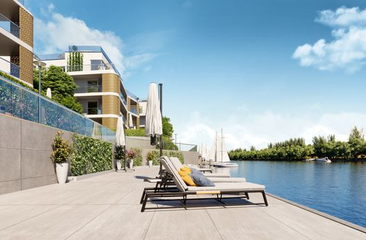 LIFE AT THE SHORE -  100m² DACHERSTBEZUG - WASSERBLICK mit exklusiver Ausstattung, Concierge, Fitness, Garage - 1190 Wien
